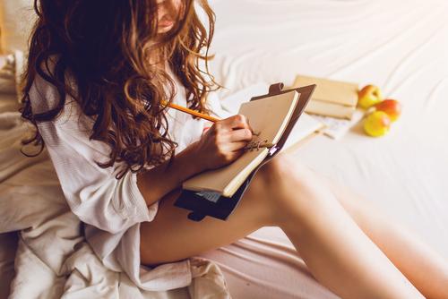 日記を書く