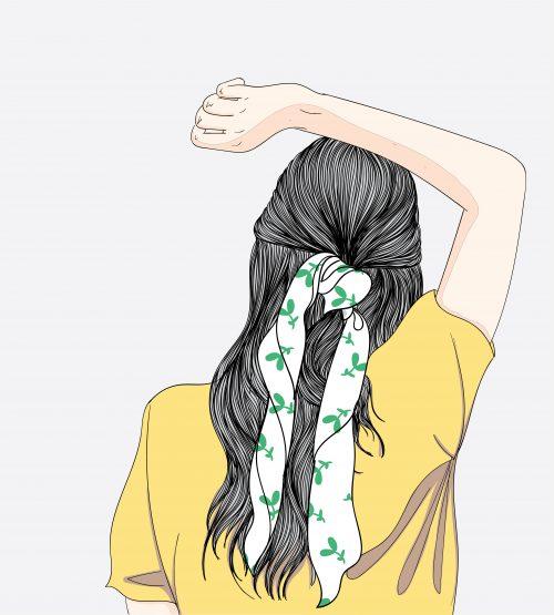 女性の髪形