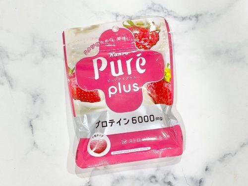 ピュレグミプラス ストロベリーミルク味