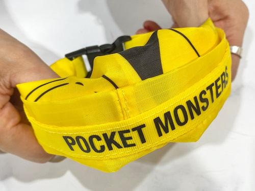 mini8月号ピカチュウ買い物バッグリストバンド型