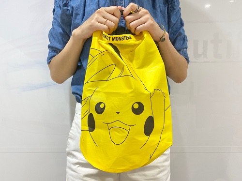 mini8月号ピカチュウ買い物バッグ