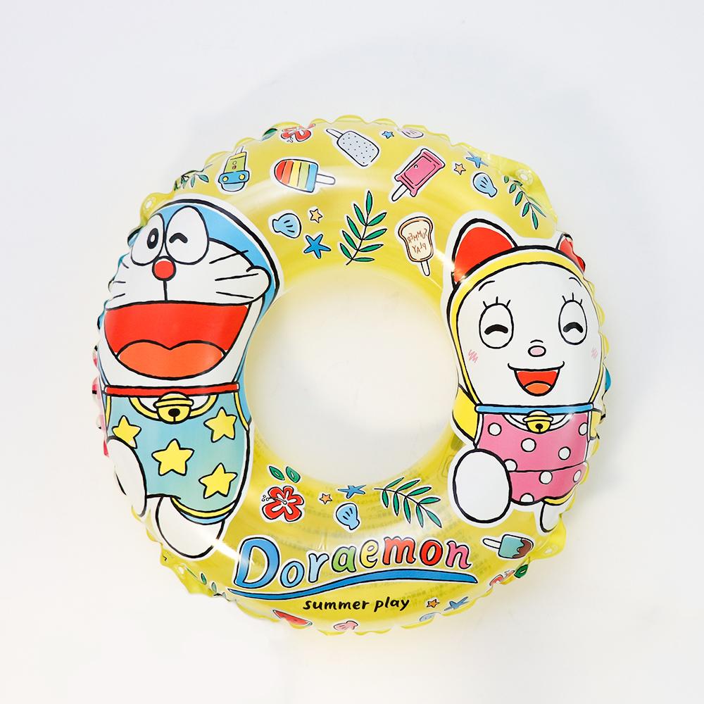 ドラえもん×3COINS・子供用浮き輪(丸形:黄色)