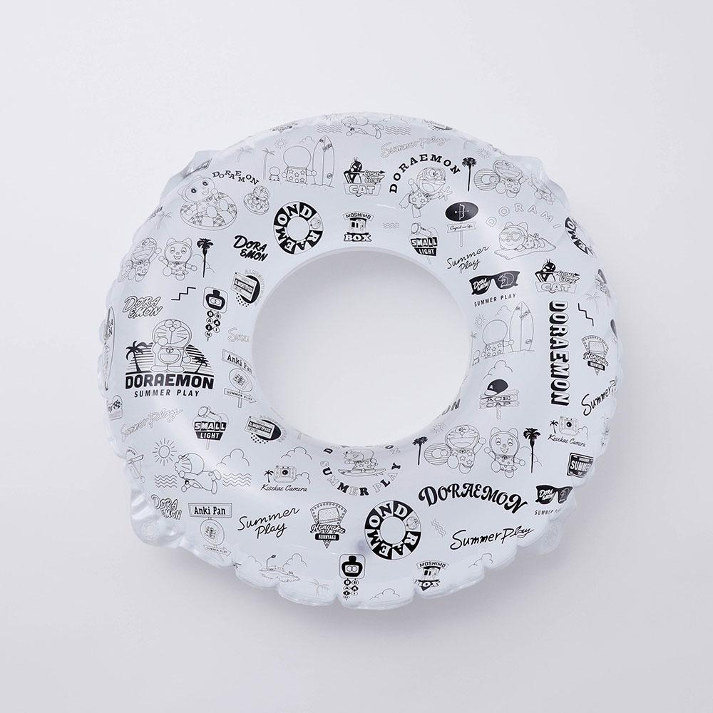 ドラえもん×3COINS・子供用浮き輪(丸形:白)