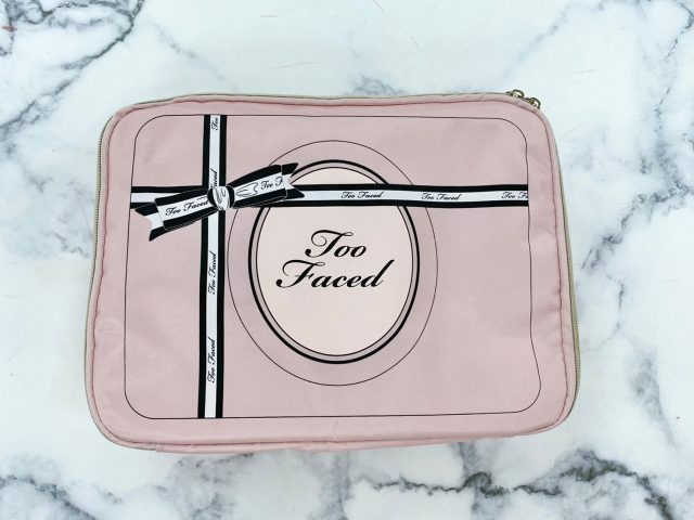 Too Faced HAPPY♡PINKコスメポーチ