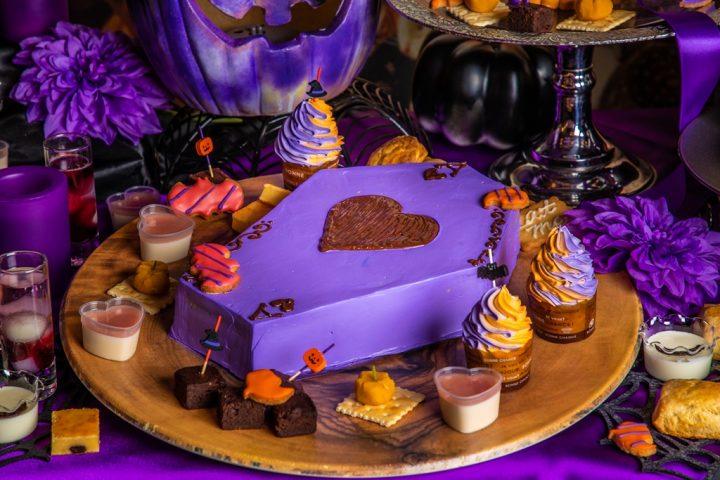 チェシャ猫のハロウィンビュッフェケーキ