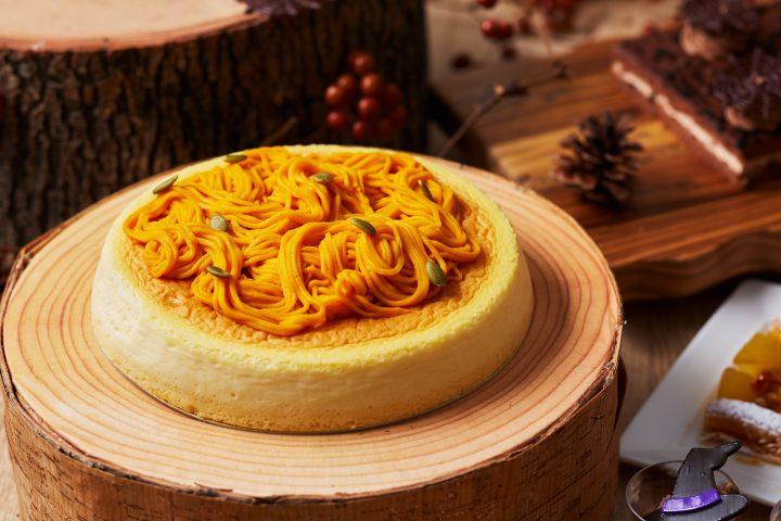ハロウィンラインチ軽食ビュッフェチーズケーキ