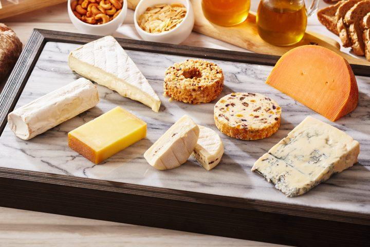 ハロウィンラインチ軽食ビュッフェチーズ