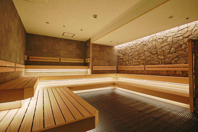 ホテルニューオータニサウナ室