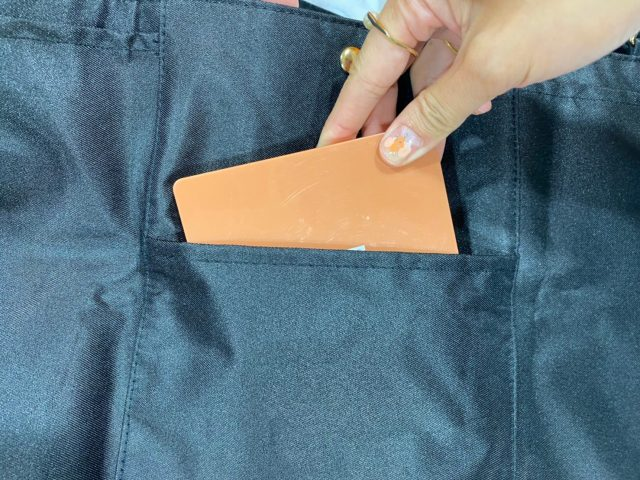 背面ポケット