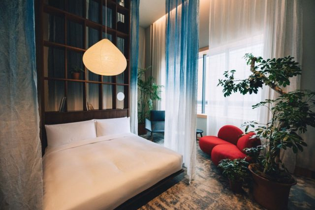 HOTEL K5の客室