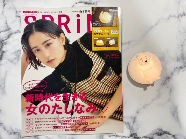 SPRiNG1月号・増刊号と付録