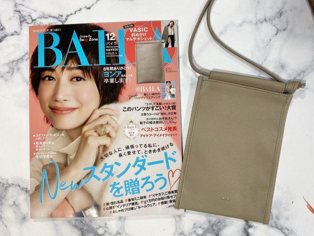 BAILA12月号表紙と付録