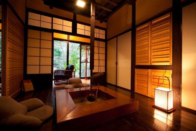 天ヶ瀬温泉 山荘 天水の客室