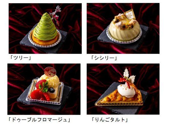ホテル日航大阪ブッフェケーキ