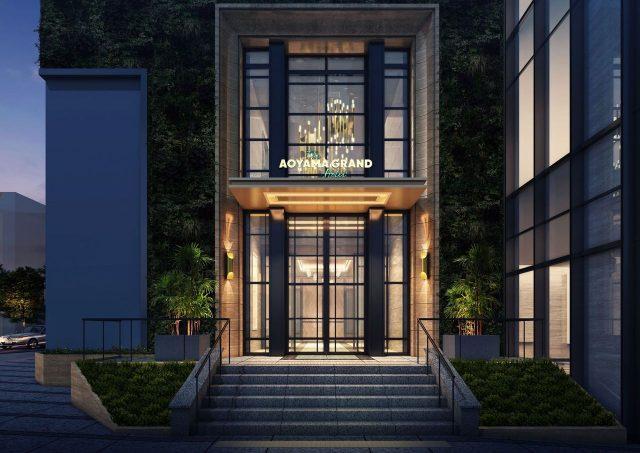 THE AOYAMA GRAND HOTELの外観