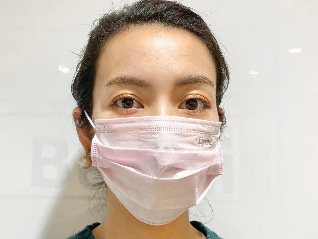 普通マスク正面
