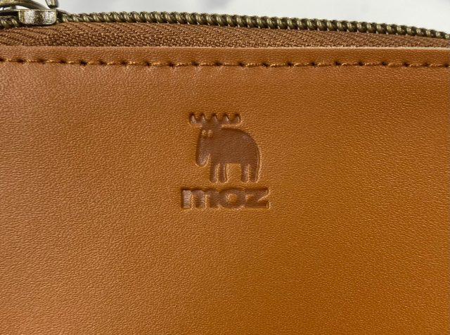moz 牛革財布・エルクのデザイン