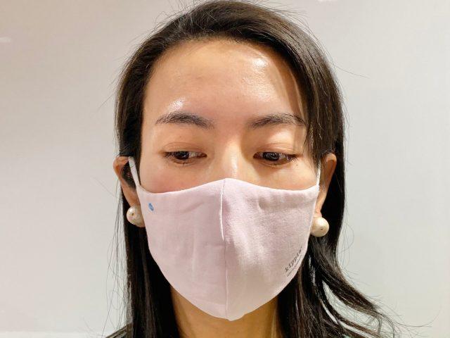 マスク着用前から