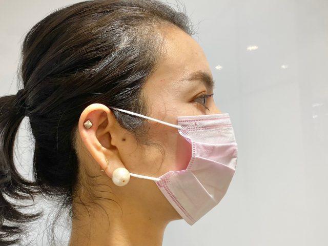 普通マスク横