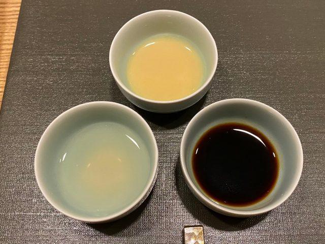 銀座KUKIお造り3種の味