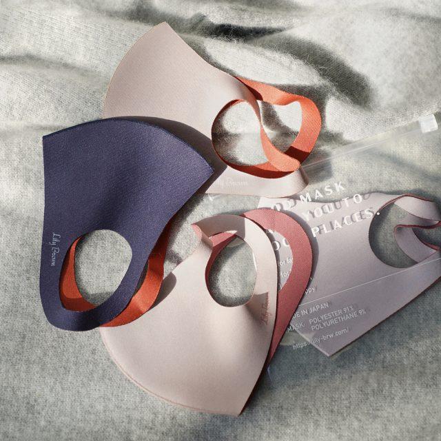 Lily Brown リップカラーマスク