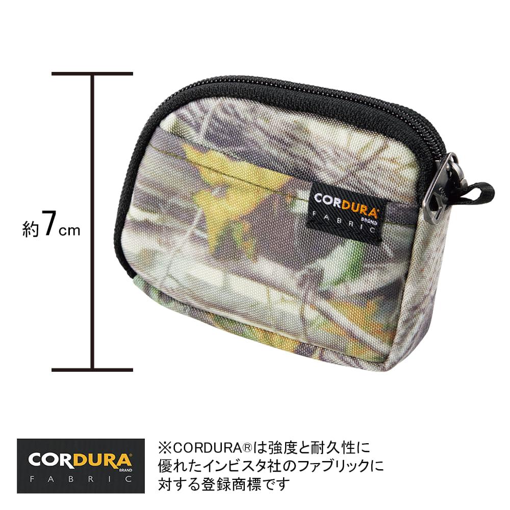 CORDURA(R)(コーデュラ) コインケース大きさがわかる画像