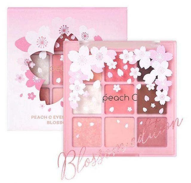 peach C「ブロッサムエディション アイシャドウパレット」