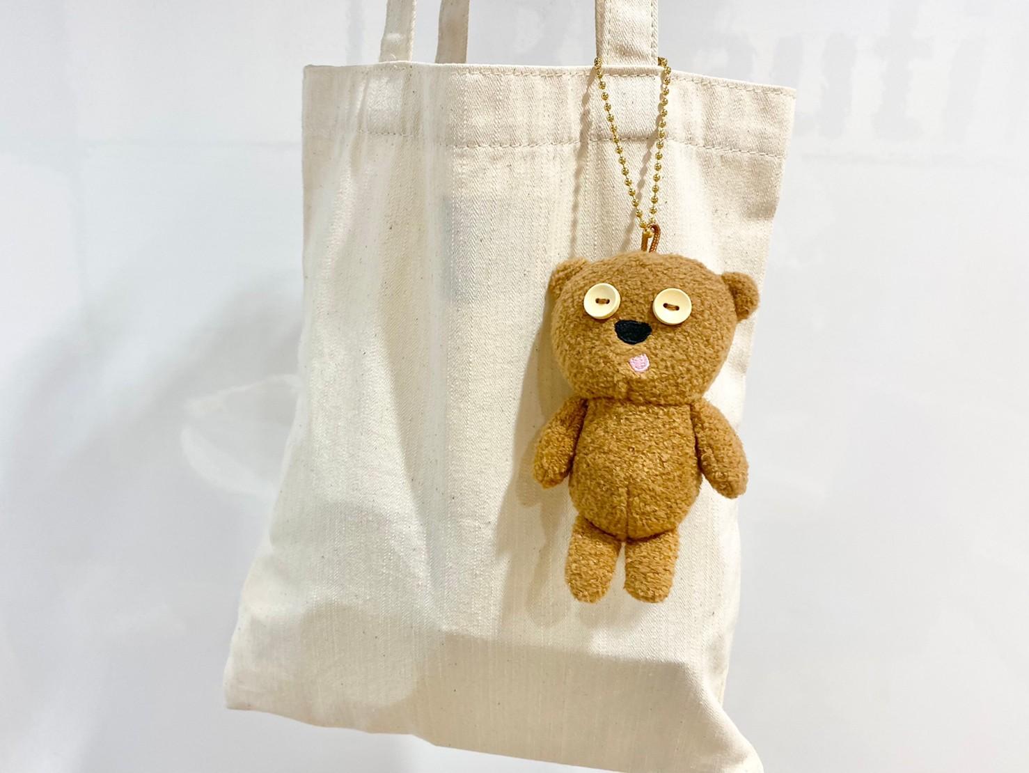 『ティムのミニチャーム』をバッグに付けた画像