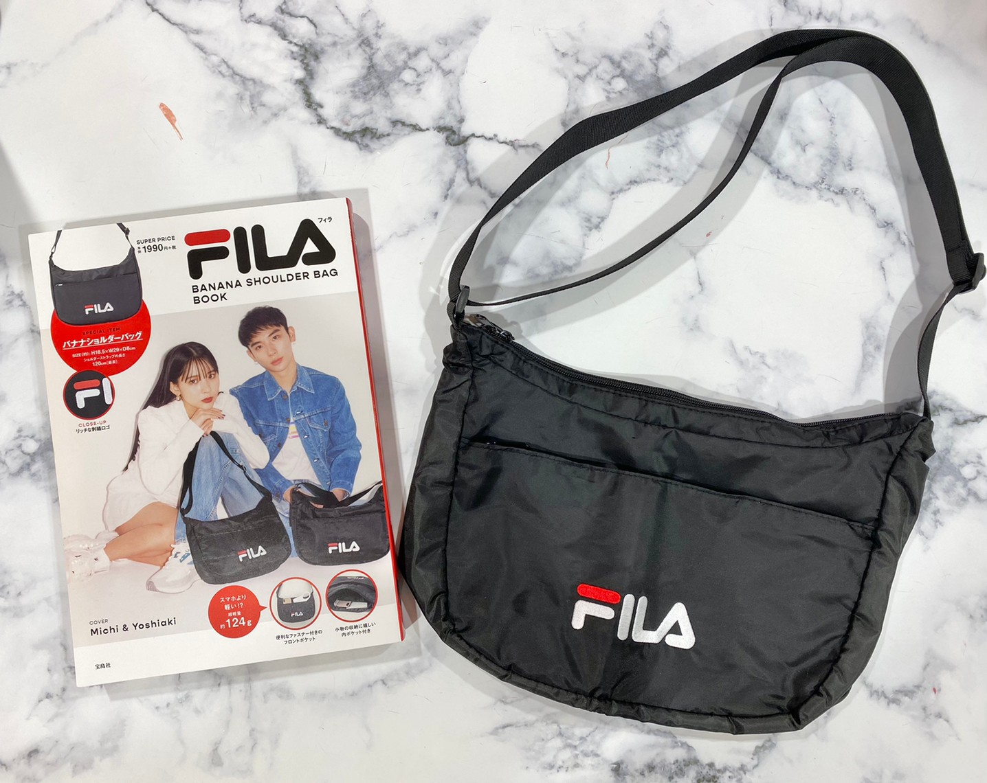 FILA BANANA SHOULDER BAG BOOKと付録の画像