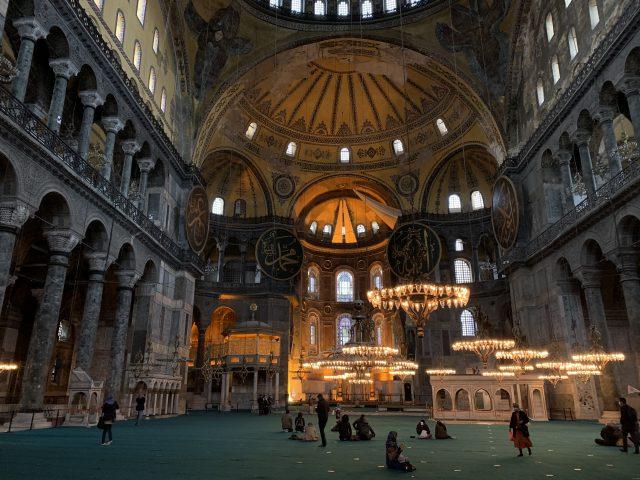 トルコアヤソフィアモスク