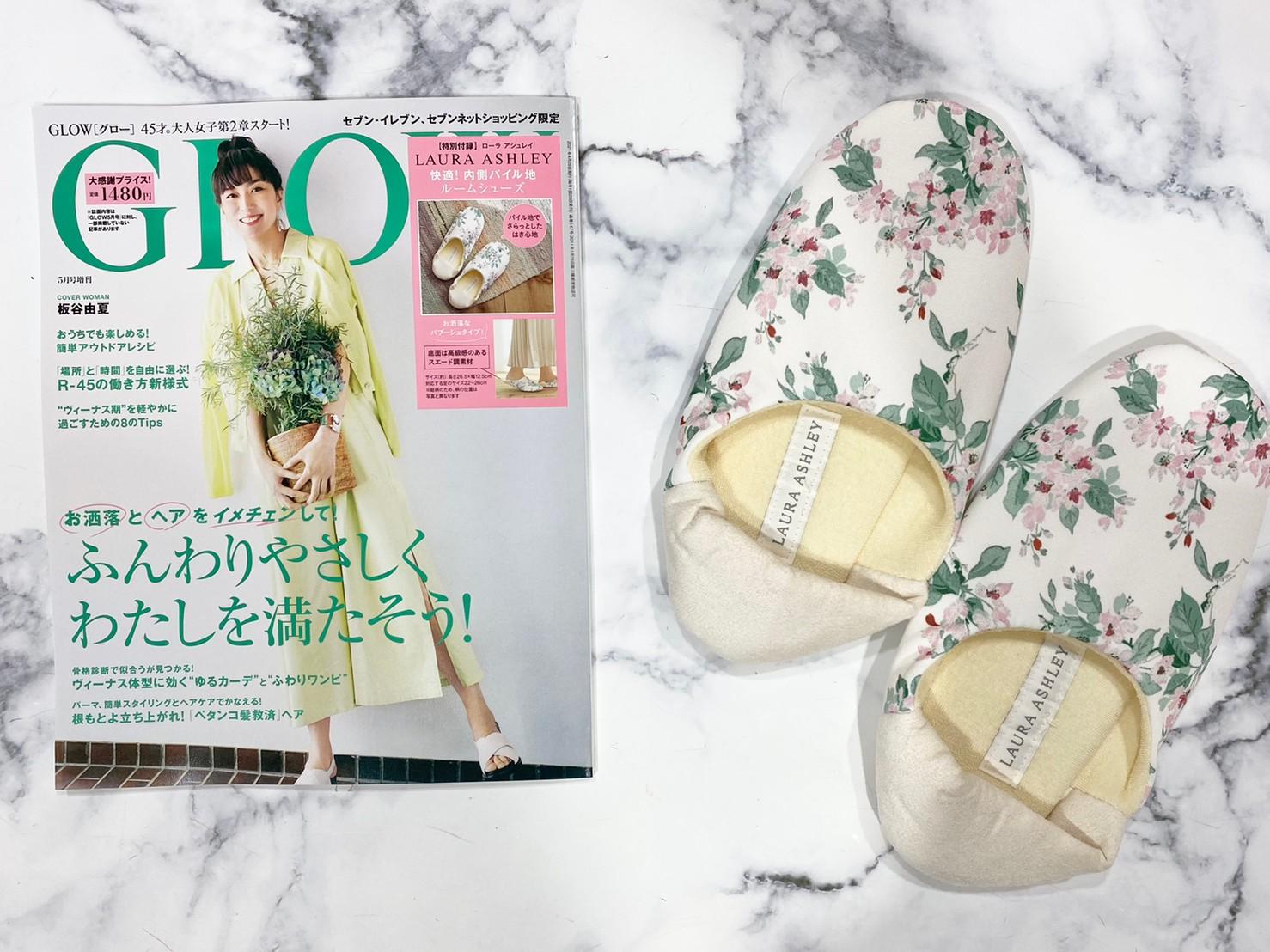 GLOW×増刊号と付録画像