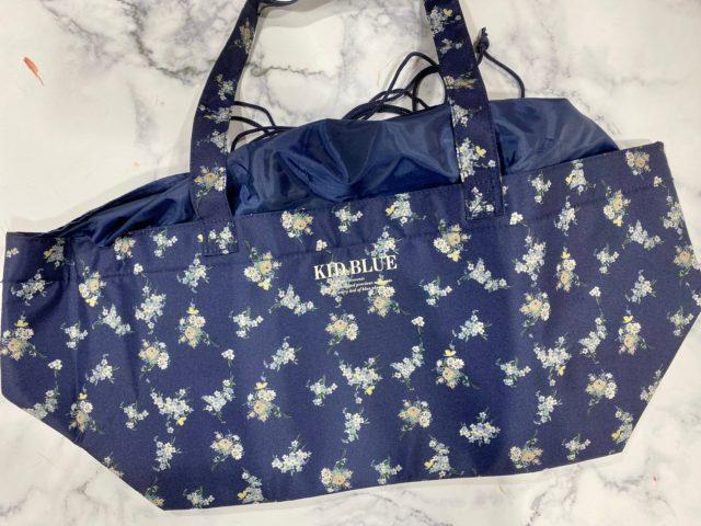 KID BLUE 保冷ができるレジカゴサイズのショッピングバッグ