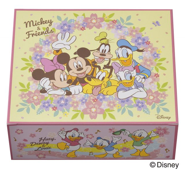 <ミッキー&フレンズ>コレクションの外箱