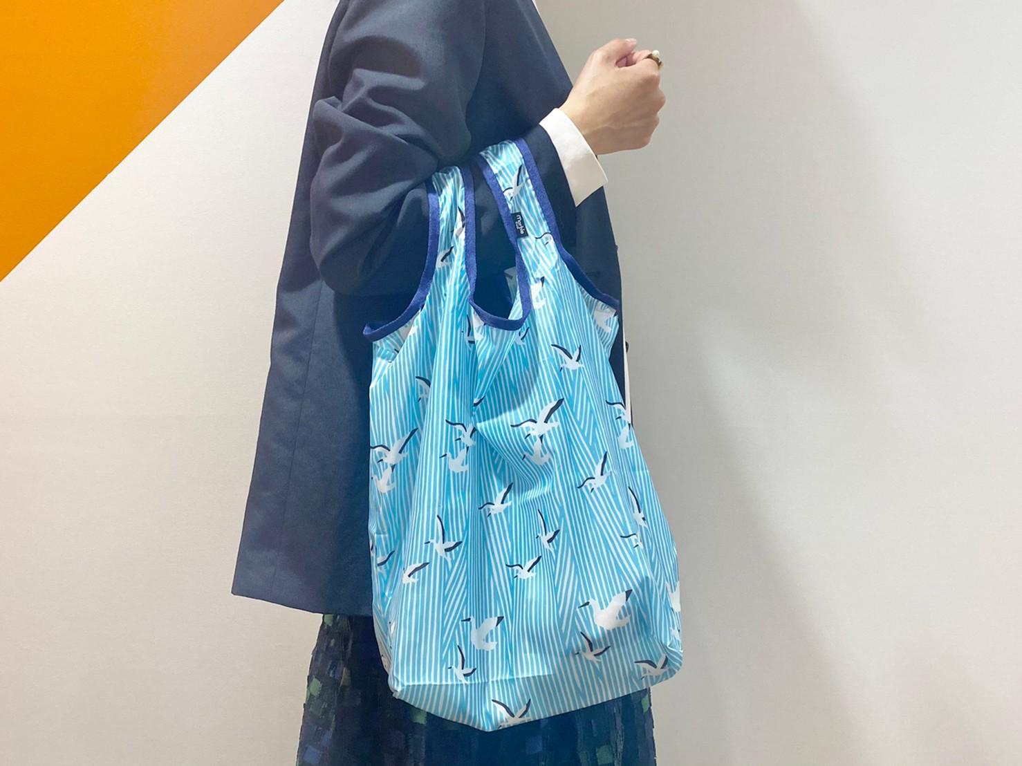 『お買い物バッグ』手に持った画像