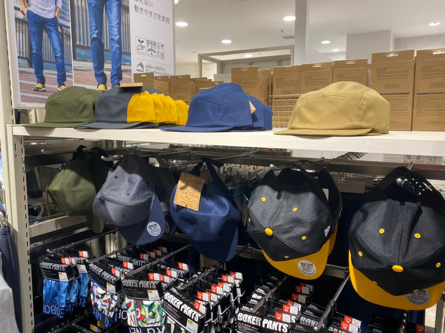 ワークマン女子帽子売り場の画像