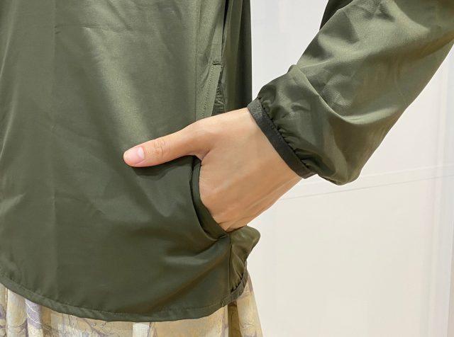 ジャケットポケット