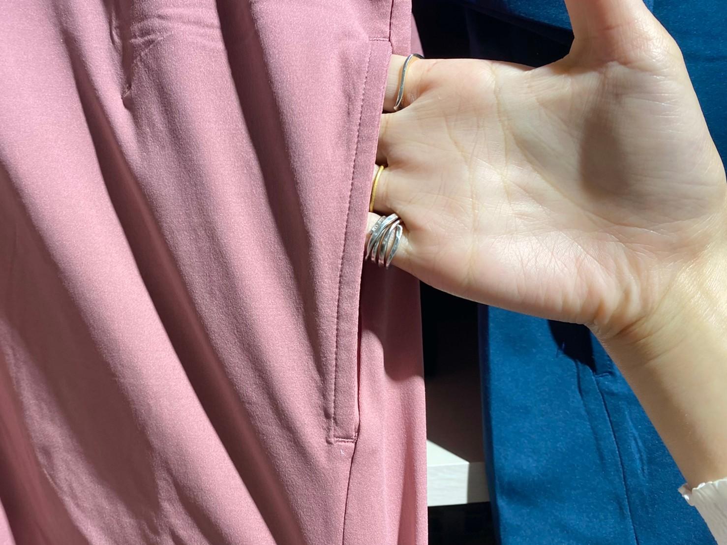 ドライサイドポケットTシャツのポケット部分の画像