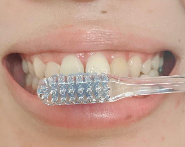 奇跡の歯ブラシ使用例
