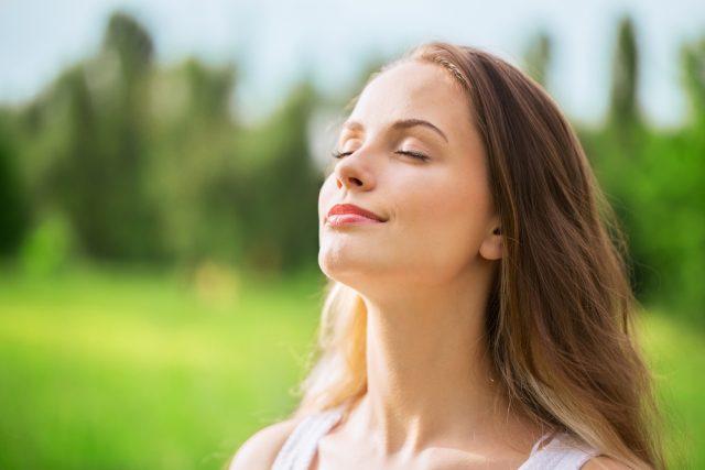 呼吸に意識を向ける