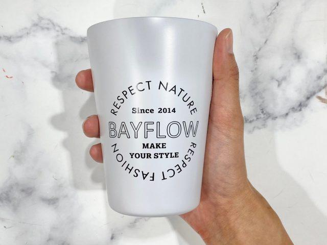 BAYFLOW カップコーヒータンブラー・マットホワイト
