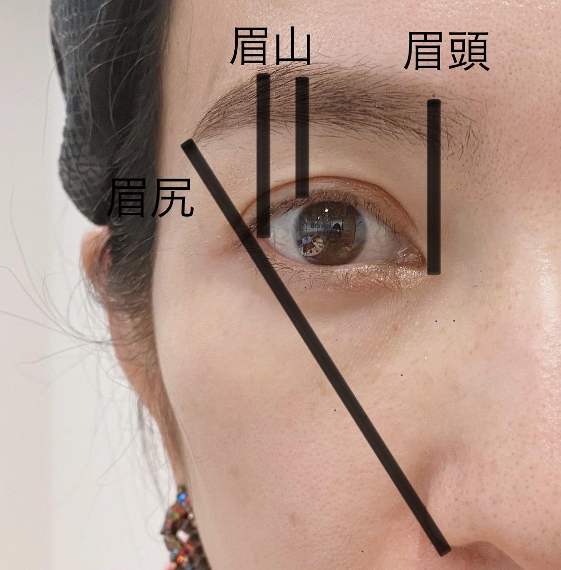 眉の黄金ルール