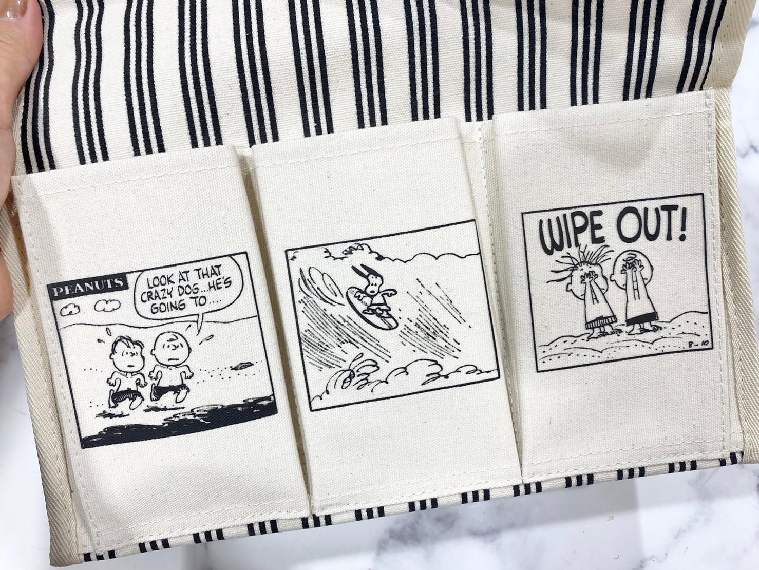 『ティッシュボックスケース』ポケット部分の画像2