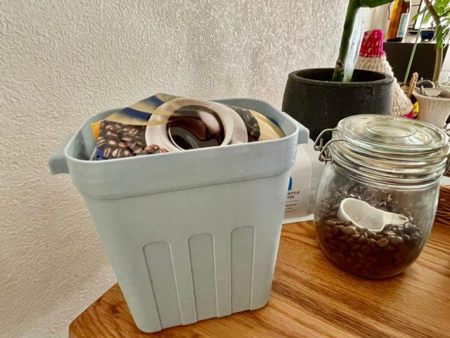 コーヒー豆の収納