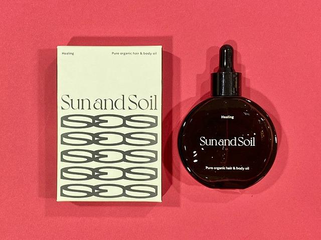Sun and Soil ヒーリングバランシングオイル