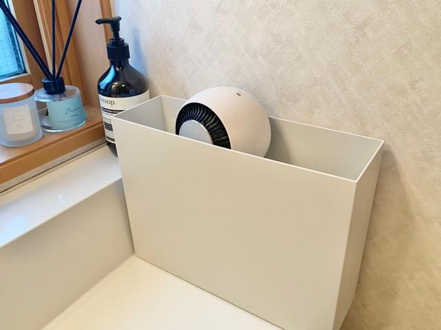 ファイルボックスにすっきり収納