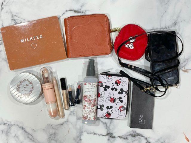 whyバッグに入れる荷物