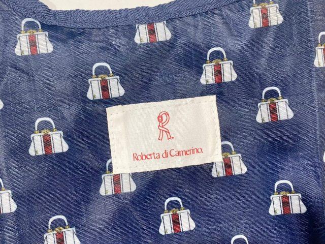 ROBERTA DI CAMERINO ショッピングバッグのブランドロゴ